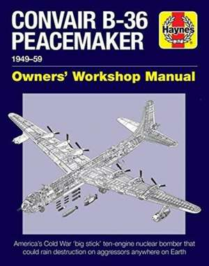 Convair B-36 Peacemaker de David Baker