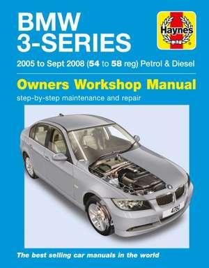 BMW 3-Series Petrol And Diesel de  Haynes Publishing