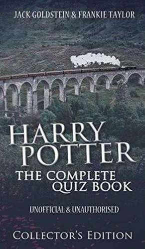 Harry Potter Book Quiz : Cartea harry potter the complete quiz book jack