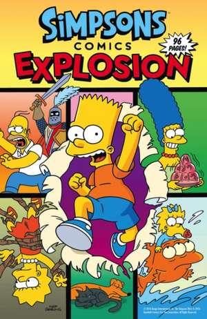 Simpsons Comics - Explosion de Matt Groening