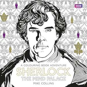 Sherlock: The Mind Palace Colouring Book
