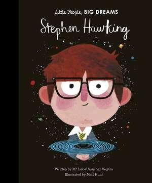 Stephen Hawking de Isabel Sanchez Vegara
