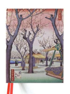 Hiroshige: Plum Garden (Blank Sketch Book) de Flame Tree Studio