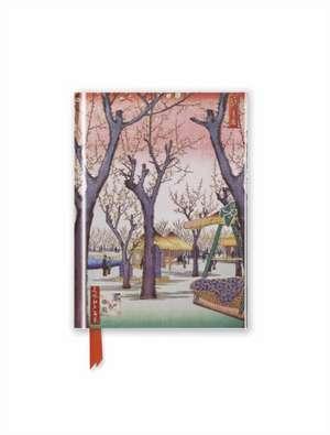 Hiroshige: Plum Garden (Foiled Pocket Journal) de Flame Tree Studio
