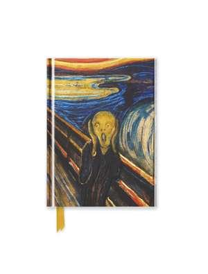Edvard Munch: The Scream (Foiled Pocket Journal) de Flame Tree Studio