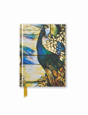 Tiffany: Standing Peacock (Foiled Pocket Journal) de Flame Tree Studio