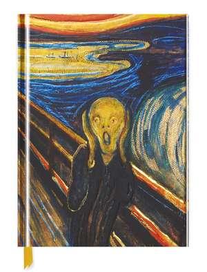 Edvard Munch: The Scream (Blank Sketch Book) de Flame Tree Studio