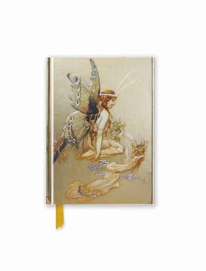 Goble: Pretty Pair of Wings (Foiled Pocket Journal) de Flame Tree Studio