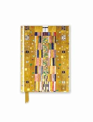 Klimt: Stoclet Freize (Foiled Pocket Journal) de Flame Tree Studio