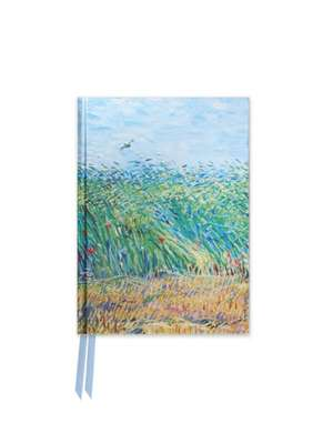 Van Gogh: Wheat Field with a Lark (Foiled Pocket Journal) de Flame Tree Studio