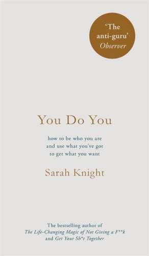 You Do You de Sarah Knight
