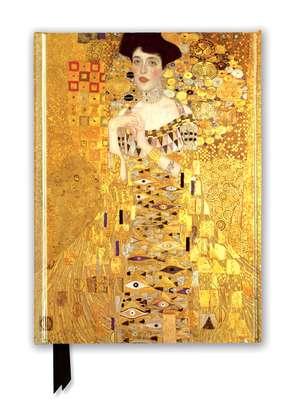 Gustav Klimt: Adele Bloch Bauer (Foiled Journal) de Flame Tree Studio