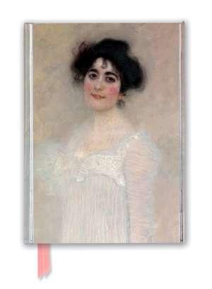 Gustav Klimt: Serena Pulitzer Lederer (Foiled Journal) de Flame Tree Studio