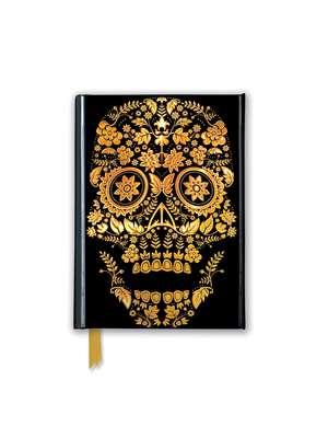 Gold Sugar Skull (Foiled Pocket Journal) de Flame Tree Studio