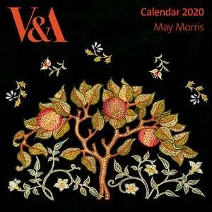 V&A - May Morris Wall Calendar 2020 (Art Calendar) de Flame Tree Studio