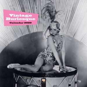 Vintage Burlesque Wall Calendar 2020 (Art Calendar) de Flame Tree Studio