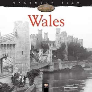 Wales Heritage Wall Calendar 2020 (Art Calendar) de Flame Tree Studio