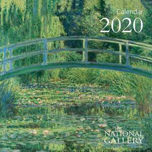 National Gallery - Claude Monet - Mini Wall calendar 2020 (Art Calendar) de Flame Tree Studio
