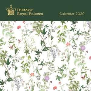 Historic Royal Palaces - Palace Patterns Mini Wall Calendar 2020 (Art Calendar) de Flame Tree Studio