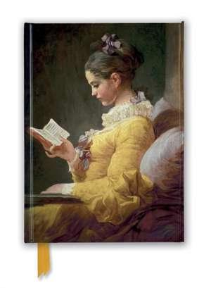 Jean-Honoré Fragonard: Young Girl Reading (Foiled Journal) de Flame Tree Studio