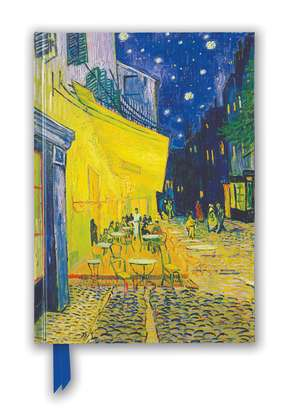Van Gogh: Café Terrace (Foiled Blank Journal) de Flame Tree Studio