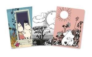 Moomin Mini Notebook Collection de Flame Tree Studio