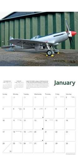 Imperial War Museum - Spitfires Wall Calendar 2021 (Art Calendar) de Flame Tree Studio