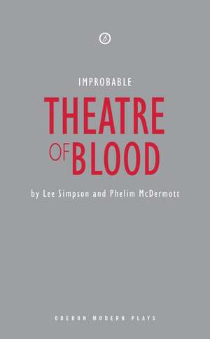 Theatre of Blood de Lee Simpson