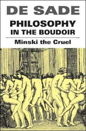 Philosophy In The Boudoir de De Sade