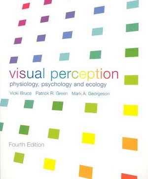 Visual Perception de Vicki Bruce