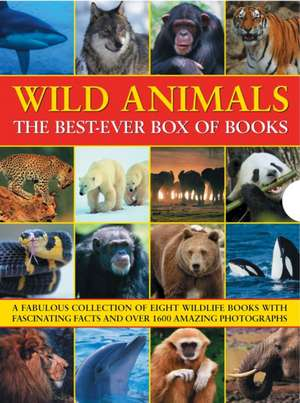 Wild Animals the Best-Ever Box of Books