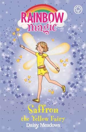 Rainbow Magic: Saffron the Yellow Fairy de Daisy Meadows