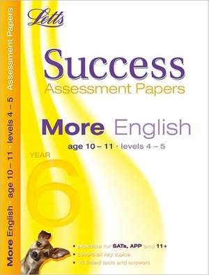 More English Age 10-11