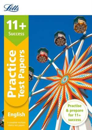 11+ English Practice Test Papers - Multiple-Choice: for the GL Assessment Tests de  Letts 11+