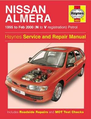 Nissan Almera Petrol (95 - Feb 00) N To V: Nissan Almera Petrol (95 - Feb 00) N to V de  Haynes Publishing