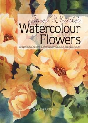 Janet Whittle's Watercolour Flowers de Janet Whittle