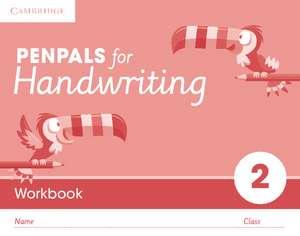 Penpals for Handwriting Year 2 Workbook (Pack of 10) de Gill Budgell