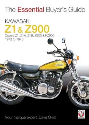 Kawasaki Z1 & Z900 de David Orritt