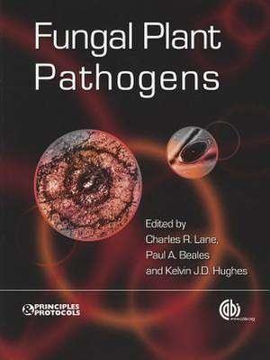 Fungal Plant Pathogens