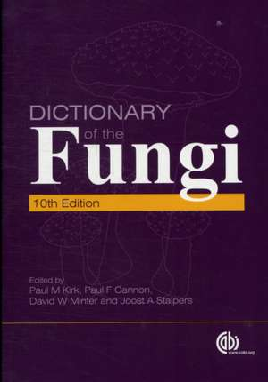 Dictionary of the Fungi imagine