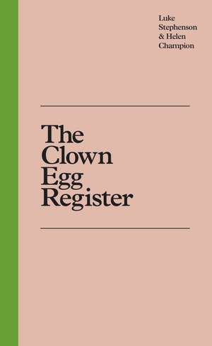 The Clown Egg Register imagine
