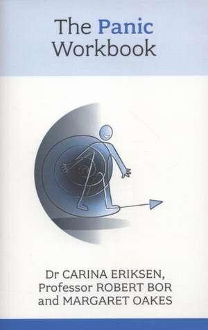 The Panic Workbook de Dr. Carina Eriksen