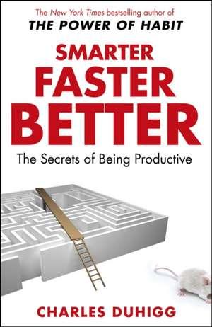Smarter Faster Better de Charles Duhigg