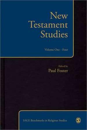 New Testament Studies de Paul S. Foster