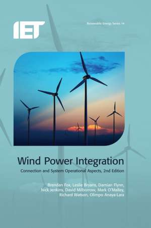 Wind Power Integration: Connection and System Operational Aspects imagine
