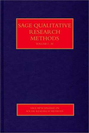 SAGE Qualitative Research Methods de Paul Anthony Atkinson