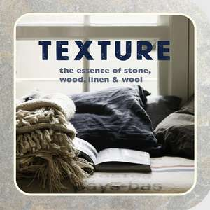 Texture: The essence of stone, wood, linen & wool de Ryland Peters & Small