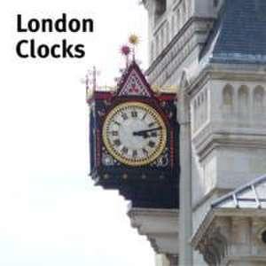 London Clocks de James Whiting