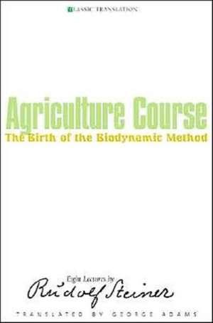 Agriculture Course de Rudolf Steiner
