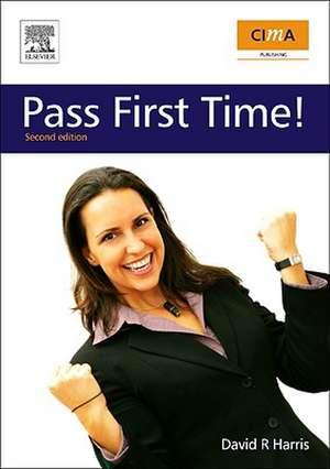 CIMA: Pass First Time! de  David Harris